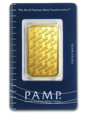 1 oz Gold Bar - New Design (In Assay)