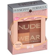 Physicians Formula Nude Wear Glowing Nude 6237 Bronzer .24 oz. Box
