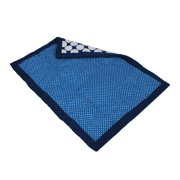 Bacati Mix n Match Blue Dots Crib/Toddler Comforter