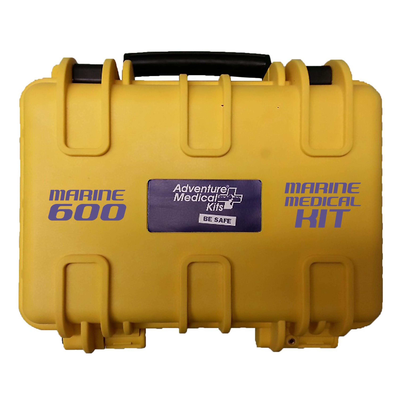 Adventure Medical Kits Marine 600 Medical Kit with Waterproof Box