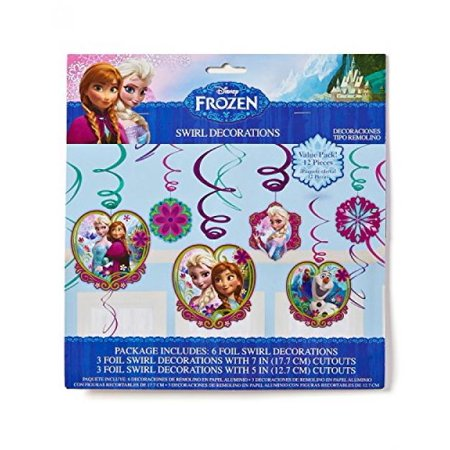 American Greetings Frozen Hanging Party Decorations, Party Supplies ()