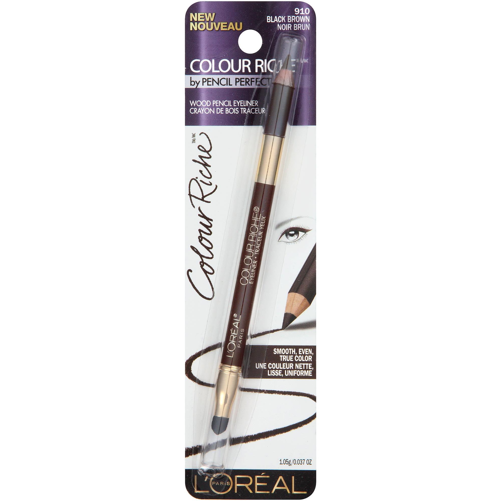 L'Oreal Paris Colour Riche Eyeliner, 910 Black/Brown, 0.037 Ounce - ONE