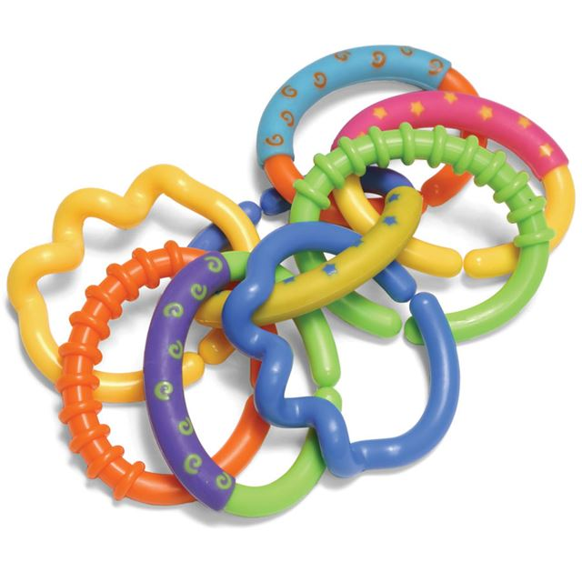 Infantino Ring Links Teether