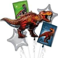 Jurassic World T-Rex Foil Balloon Bouquet