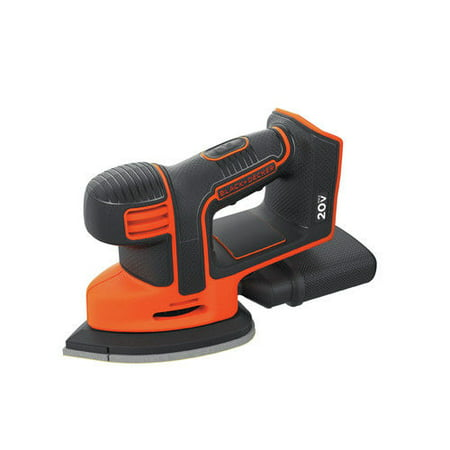 BLACK+DECKER 20-Volt Max* Cordless Mouse Sander, (Best Detail Sanders)