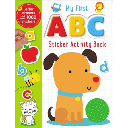 Sticker Books My First ABC Activity Book