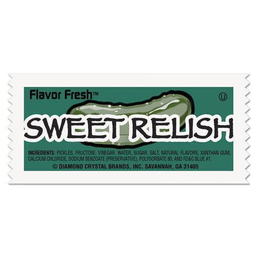 Diamond Crystal 76019 Flavor Fresh Relish Packets, .317oz Packet, 200 Carton by DIAMOND CRYSTAL BRANDS