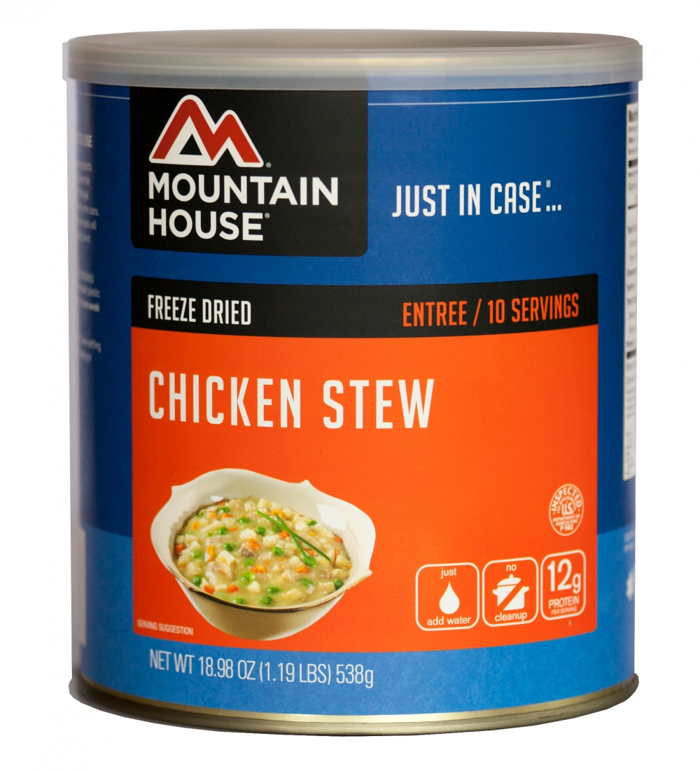 Mountain House (6 Pack) Chicken Stew Main Entree #10 Can by Mountain House