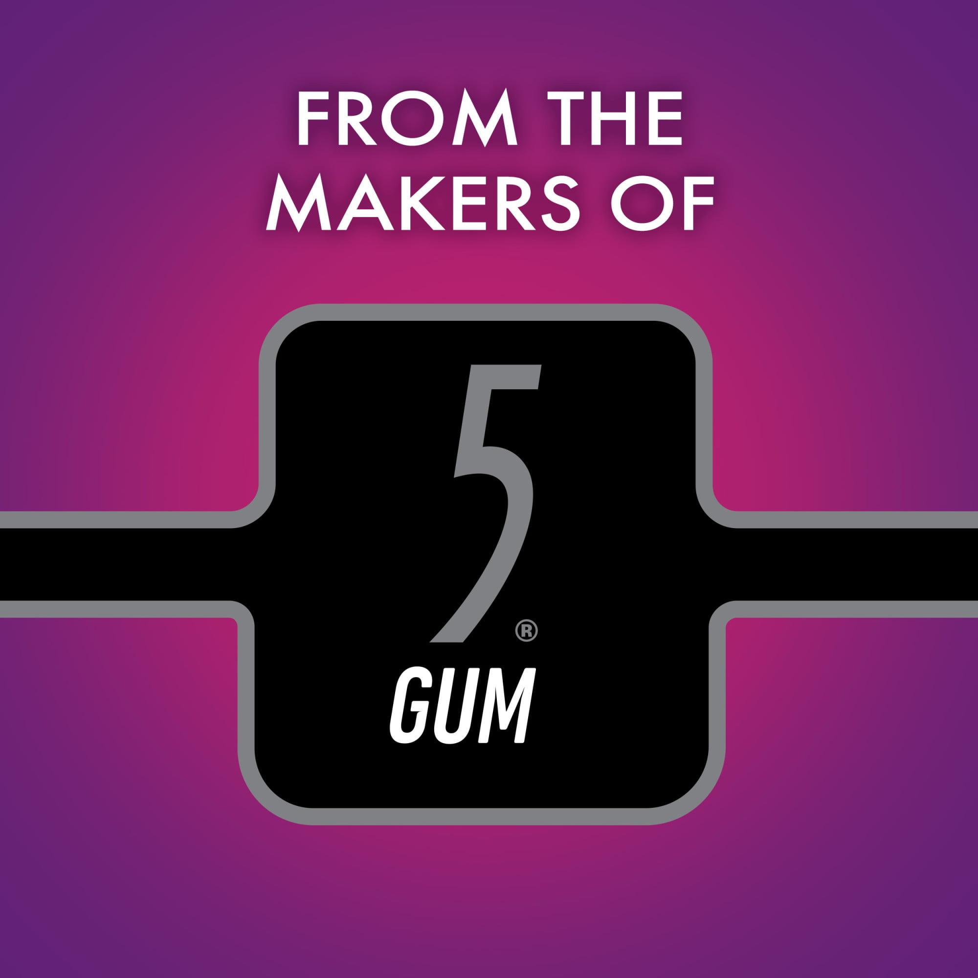 5 Alert Mint Gum