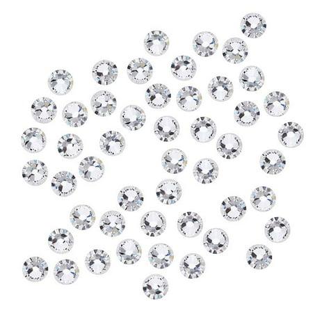 - Swarovski Crystal, Round Flatback Rhinestone SS16 3.8mm, 50 Pieces, Crystal