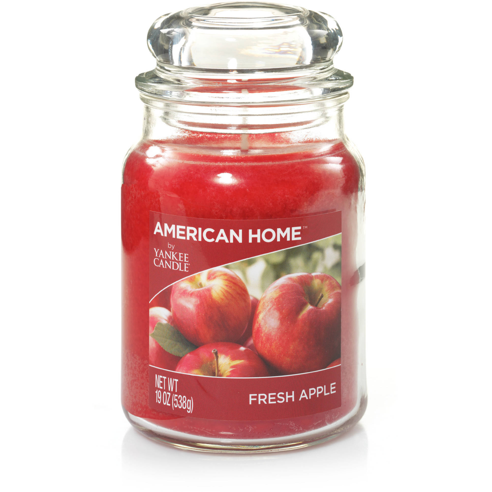 Click here to buy American Home by Yankee Candle Fresh Apple, 19 oz Large Jar by YANKEE CANDLE CO.