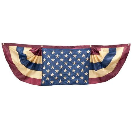 Vintage American Flag Bunting - Irish Flag Bunting