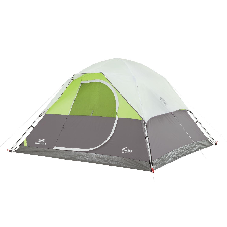 Coleman Aspenglen Instant Dome 6 Person Tent Walmart Com