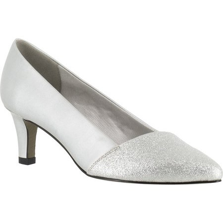Easy Street - easy street womens darling patent pointed toe pumps -  Walmart.com 9c1ac42e7a