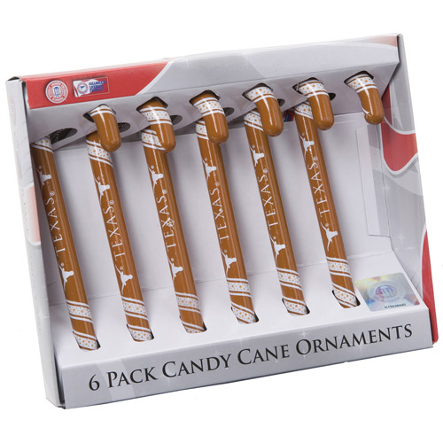 Candy Cane Ornament Set, Texas