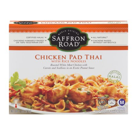Saffron Road Chicken Pad Thai With Rice Noodles, 10.0 OZ
