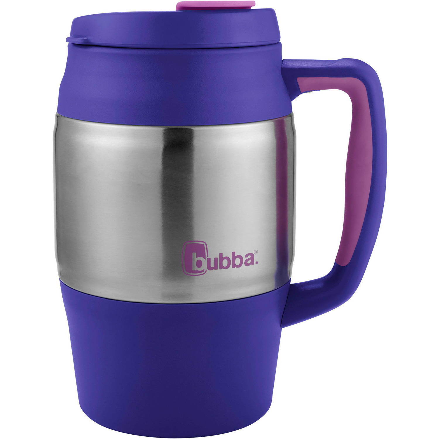 bubba Classic Insulated Travel Mug, 34 oz., Purple by BUBBA BRANDS INC