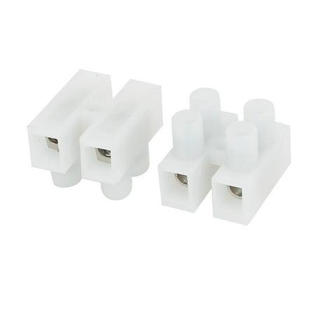 500-2P 450V H Type Bandes Borniers à vis des connecteurs de cable Fil 10pcs - image 1 de 4