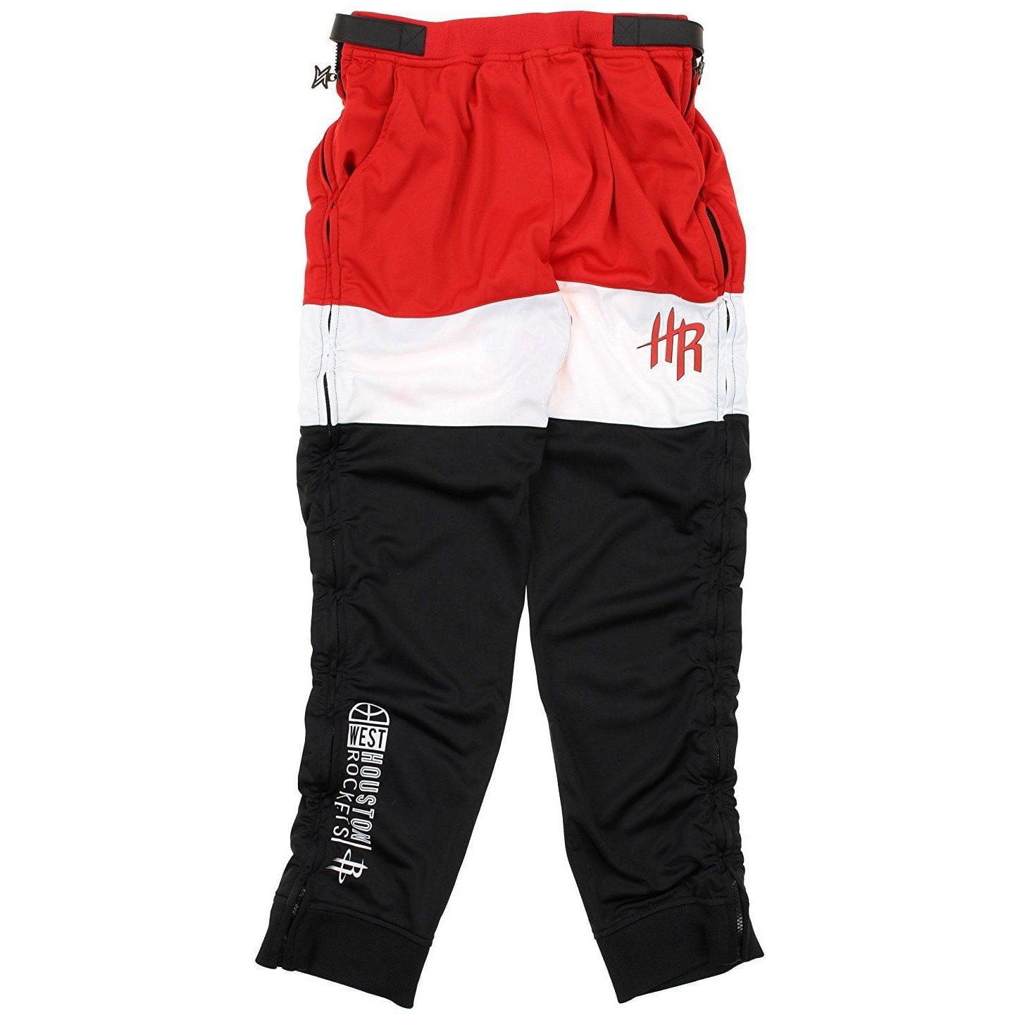 Zipway NBA Men's Houston Rockets Stadium Sport Tear-Away Pants