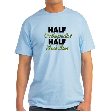 CafePress - Half Orthopedist Half Rock Star T-Shirt - Light T-Shirt - CP