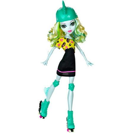Monster High Skultimate Roller Maze Doll Lagoona Blue Doll