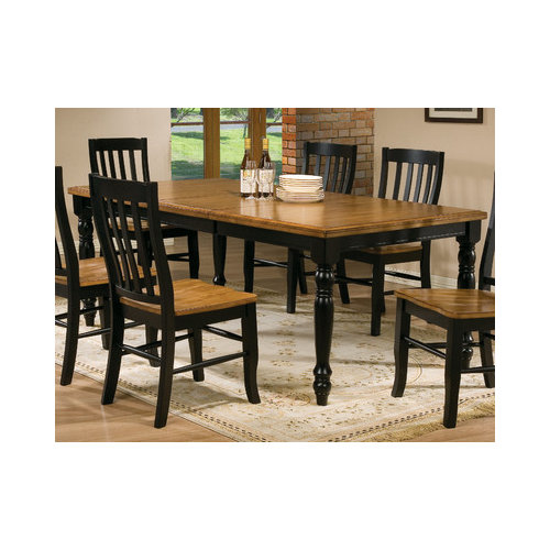 Bundle-68 Winners Only, Inc. Quails Run Dining Table (7 Pieces)
