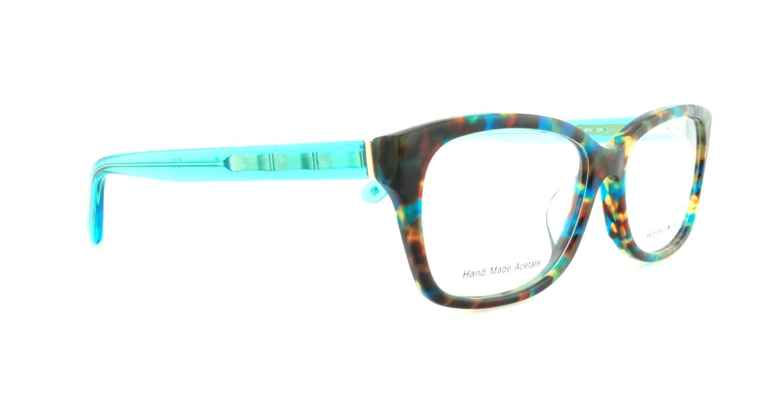 f1c89fdcf91 KATE SPADE Eyeglasses DEMI F 0FB1 Teal Havana Teal 54MM - Walmart.com