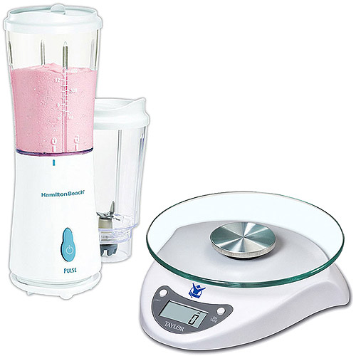 Hamilton Beach Single-Serve Blender and Biggest Loser Food Scale Value Bundle