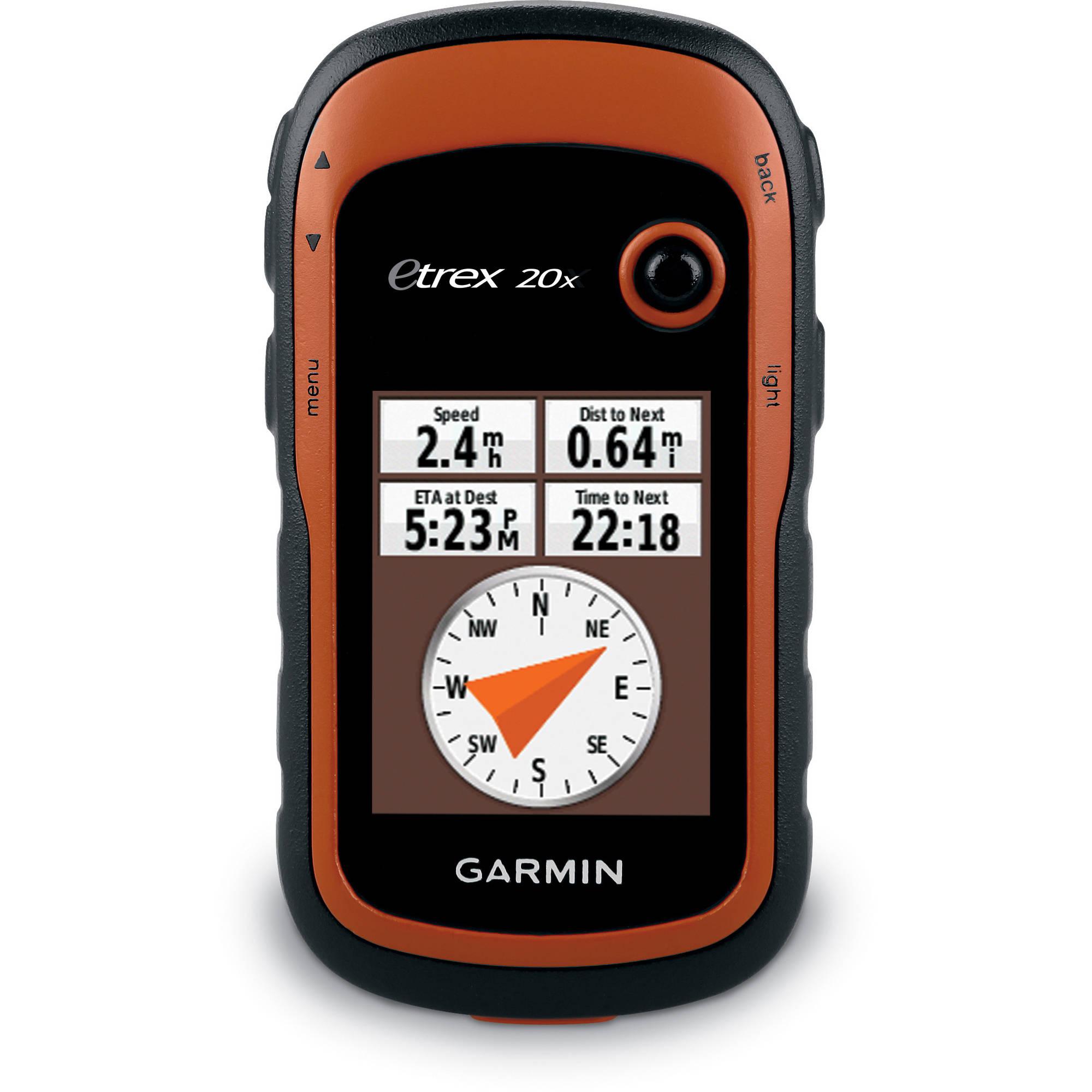 GPS eTrex 20 x GPS portátiles + Garmin en Veo y Compro
