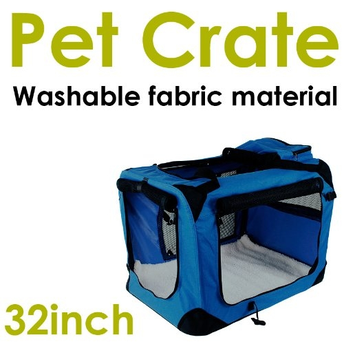 New MTN-G Large Dog Pet Puppy Portable Foldable Soft Crat...