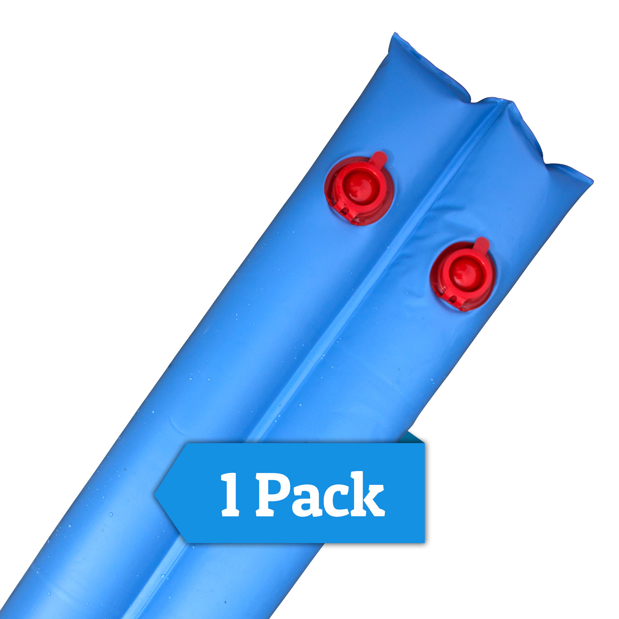 Robelle 10' Blue 16-Gauge Double Chamber Water Tube for Swimming Pools
