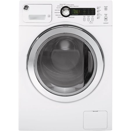 WCVH4800KWW 2.2 DOE Cu. Ft. Front Load White Washer with Water Levels Automatic  5 Wash/Rinse Temperatures with Sanitize and HydroMotion Wash Action  in