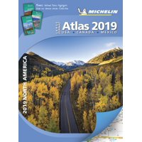 Michelin north america large format atlas 2019: 9782067227910