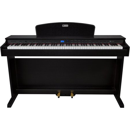 Williams Rhapsody 2 88-Key Console Digital Piano (Best Digital Piano With Weighted Keys And Foot Pedal)