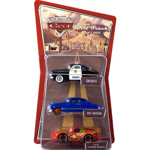 Disney Cars Dirt Track Diecast Vehicle 3-Pack