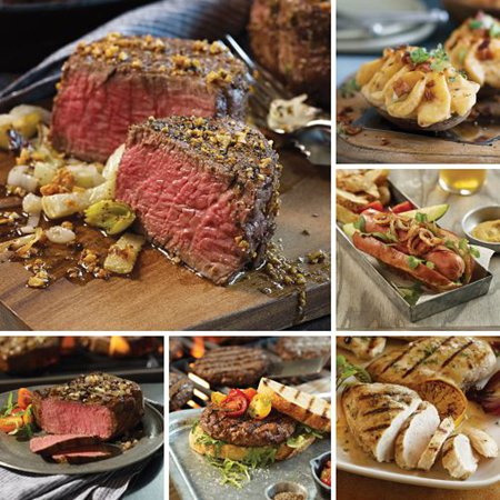 Omaha Steaks Best Sellers Gift Set Father's Day Food Christmas Gift Package Gourmet Deluxe Steak (Best Meat Gift Packages)