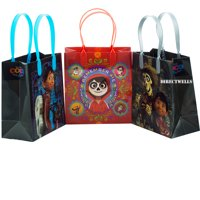 Disney Coco 12 Party Favor Reusable Goodie Small Gift Bags