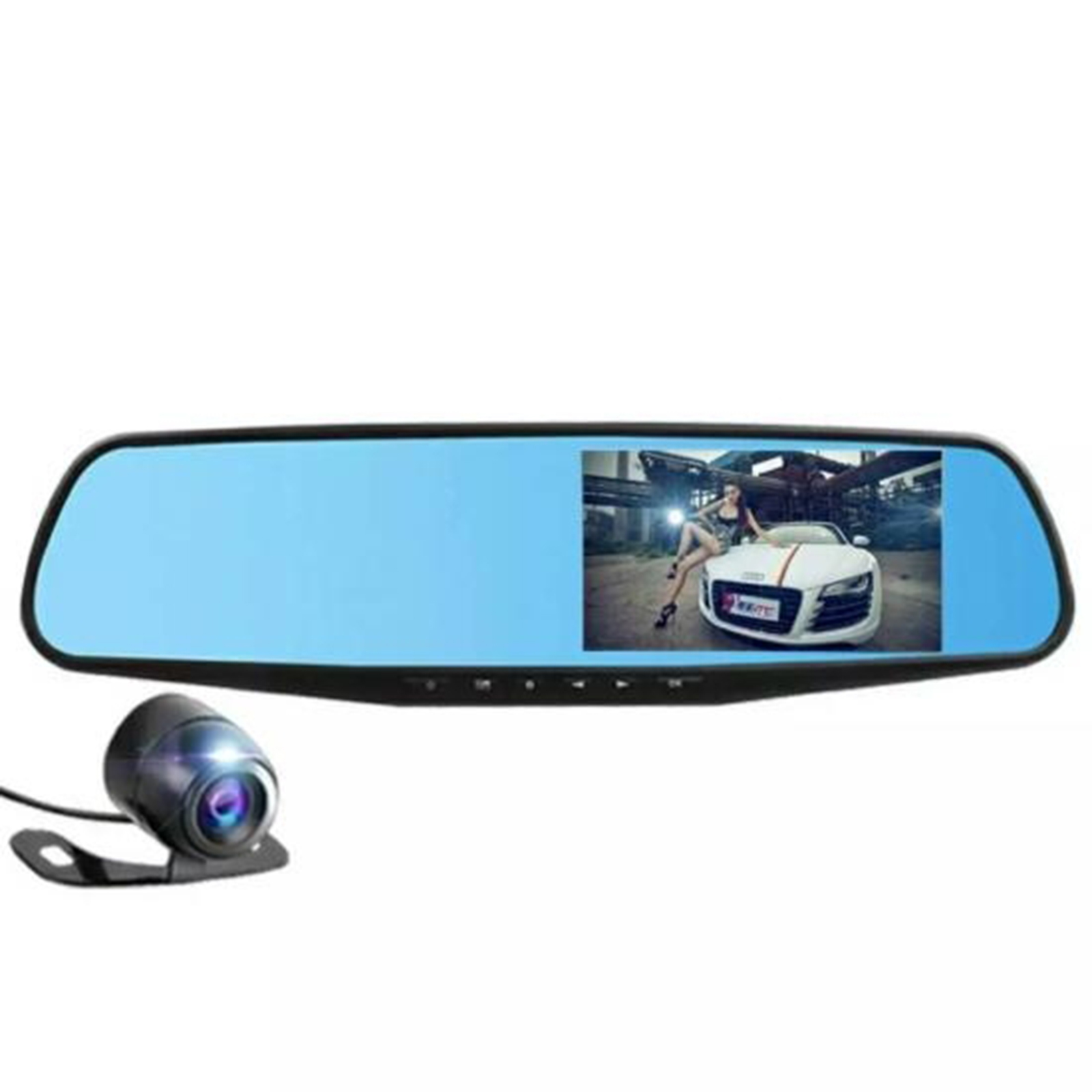 """Click here to buy DVR Dash Cam & Backup Camera Kit, Car Video Recording System with Dual Cameras, Full HD 1080p, 4.3""""... by Pyle."""