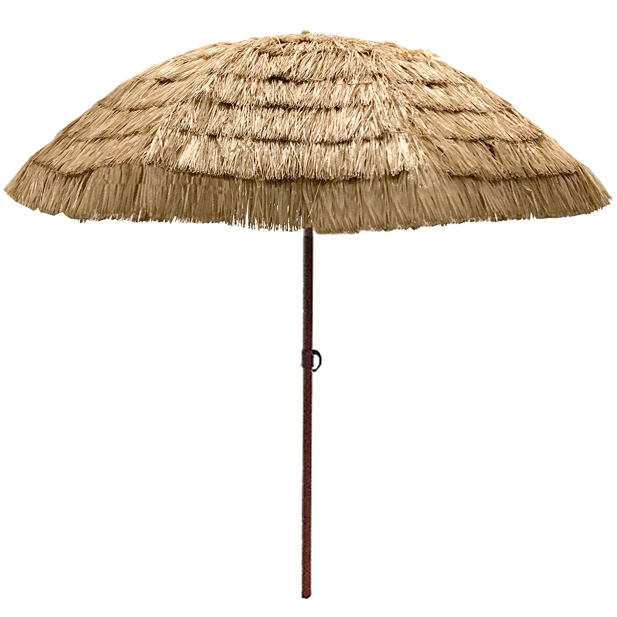 easygo 8u0027 thatch patio tiki umbrella tropical palapa raffia tiki hut hawaiian hula - Tiki Hut