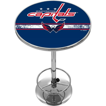 NHL Chrome Pub Table, Washington Capitals by
