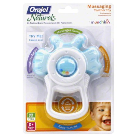 Toys & Co (Munchkin Orajel Massaging Teether Toy with Bite Activation - Assorted)