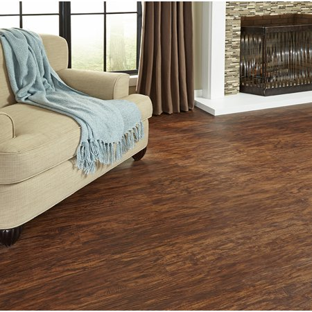 Cinnamon Oak Plank (Cinnamon Hickory 5.83 in. x 36 in. Embossed HDPC Vinyl Plank (17.48 sq. ft. / case) )