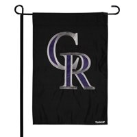 "Colorado Rockies 12.5"" x 19"" Applique Double-Sided Garden Flag - No Size"