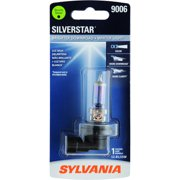 Sylvania 9006 SilverStar Auto Halogen Headlight Bulb, Pack of 1.