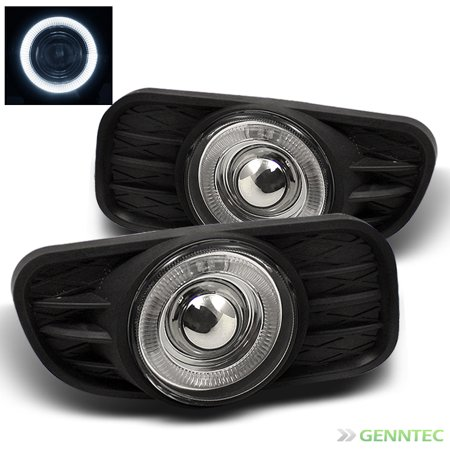 1999-2004 Jeep Grand Cherokee Halo Projector Fog Light +Switch+Bulb+Harness 2000 2001 2002 2003 Pair (2002 Jeep Grand Cherokee Overland Owners Manual)