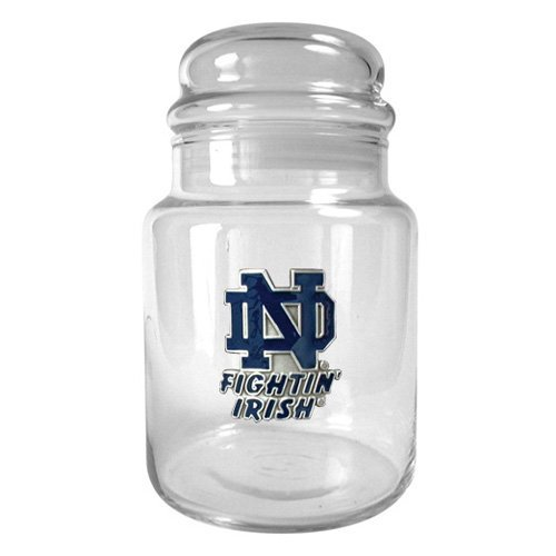 Great American NCAA 31 oz. Glass Candy Jar