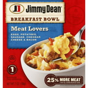 Jimmy Dean Meat Lovers Breakfast Bowl, 7 oz