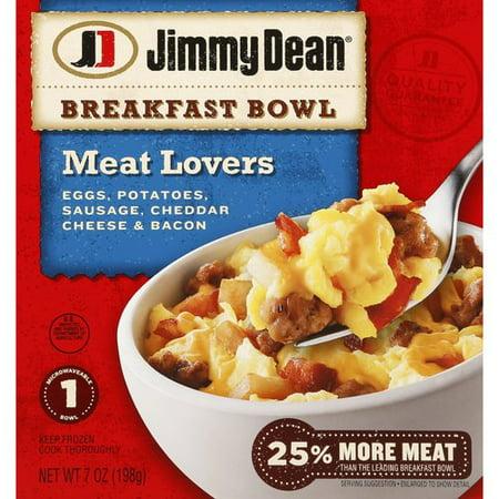 Jimmy Dean Meat Lovers Breakfast Bowl, 7 oz - Walmart.com