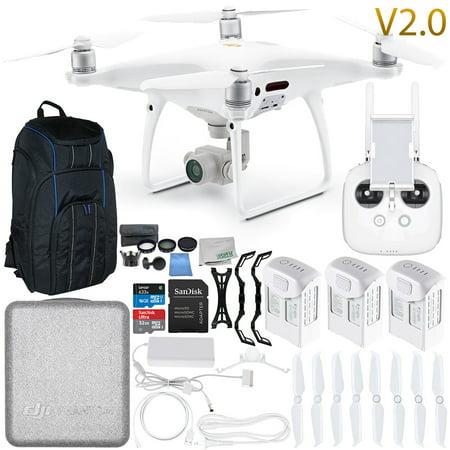 DJI Phantom 4 Pro V2.0/Version 2.0 Quadcopter Ultimate Pro Backpack Bundle