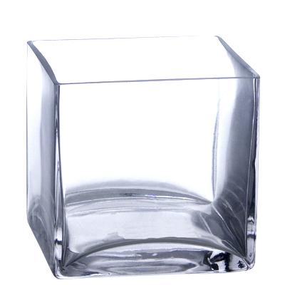 """5"""" Bulk Square Vases (Set of 12)"""